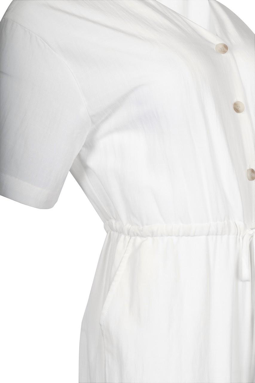 Linen like Waist String Jumpsuit