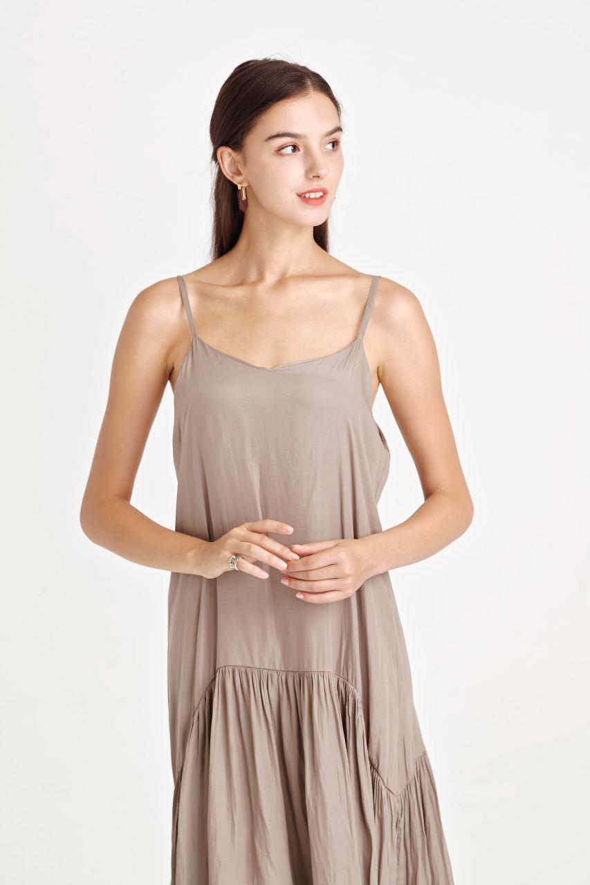 Tiered Hem Cami Dress