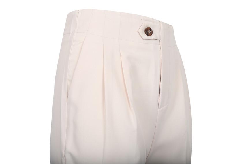 Dressy Tucked Pants