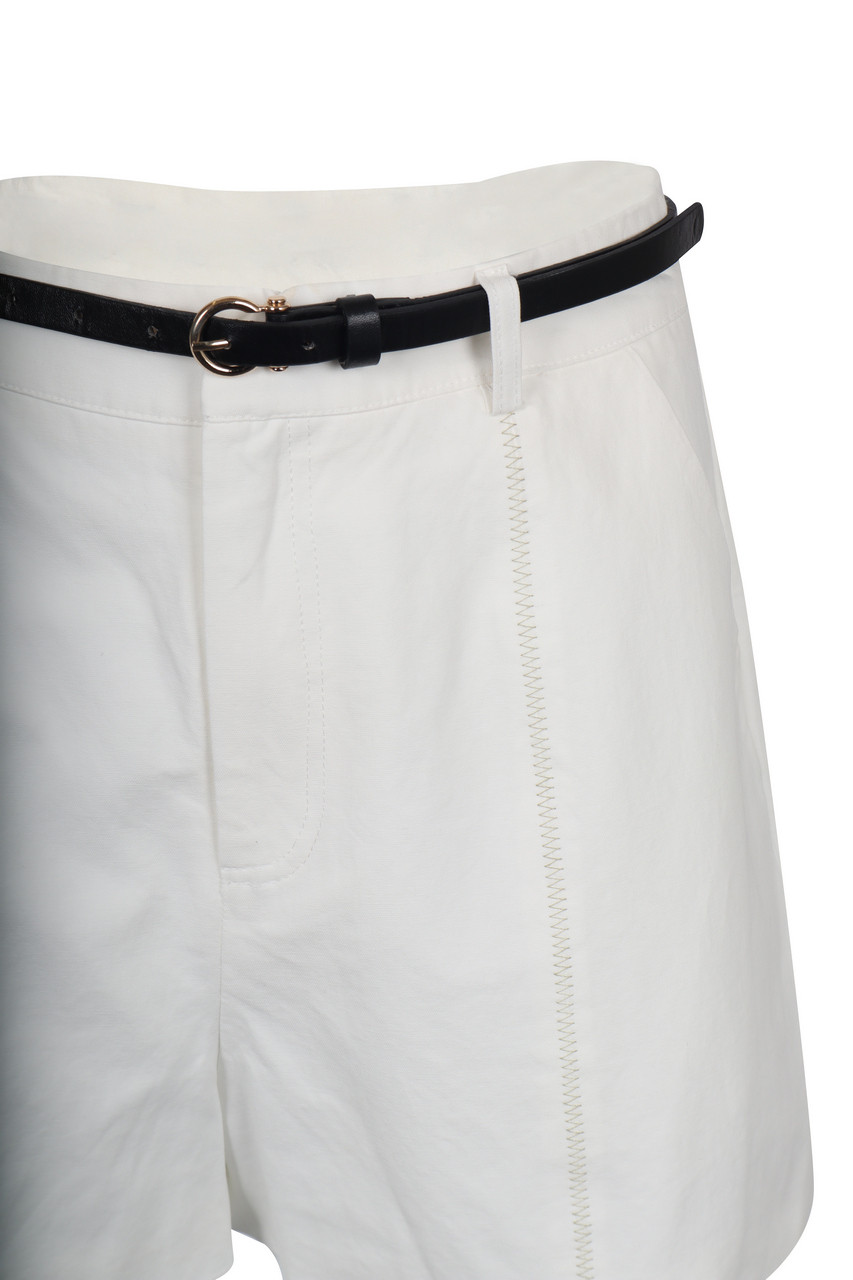Dressy Belted Shorts