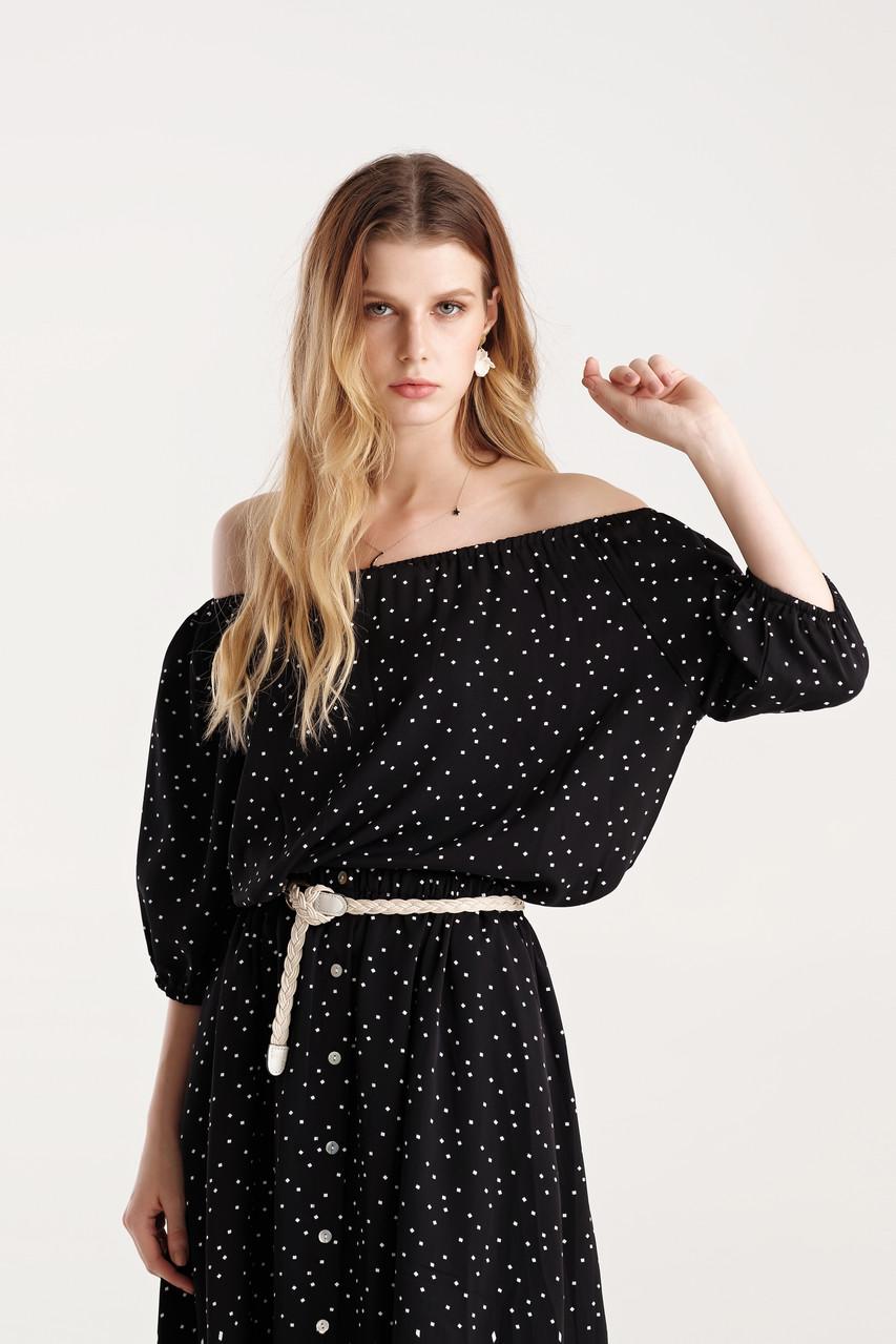 Dot Top and Skirt - Set