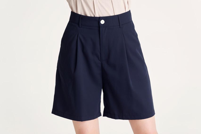 Dressy Tucked Shorts
