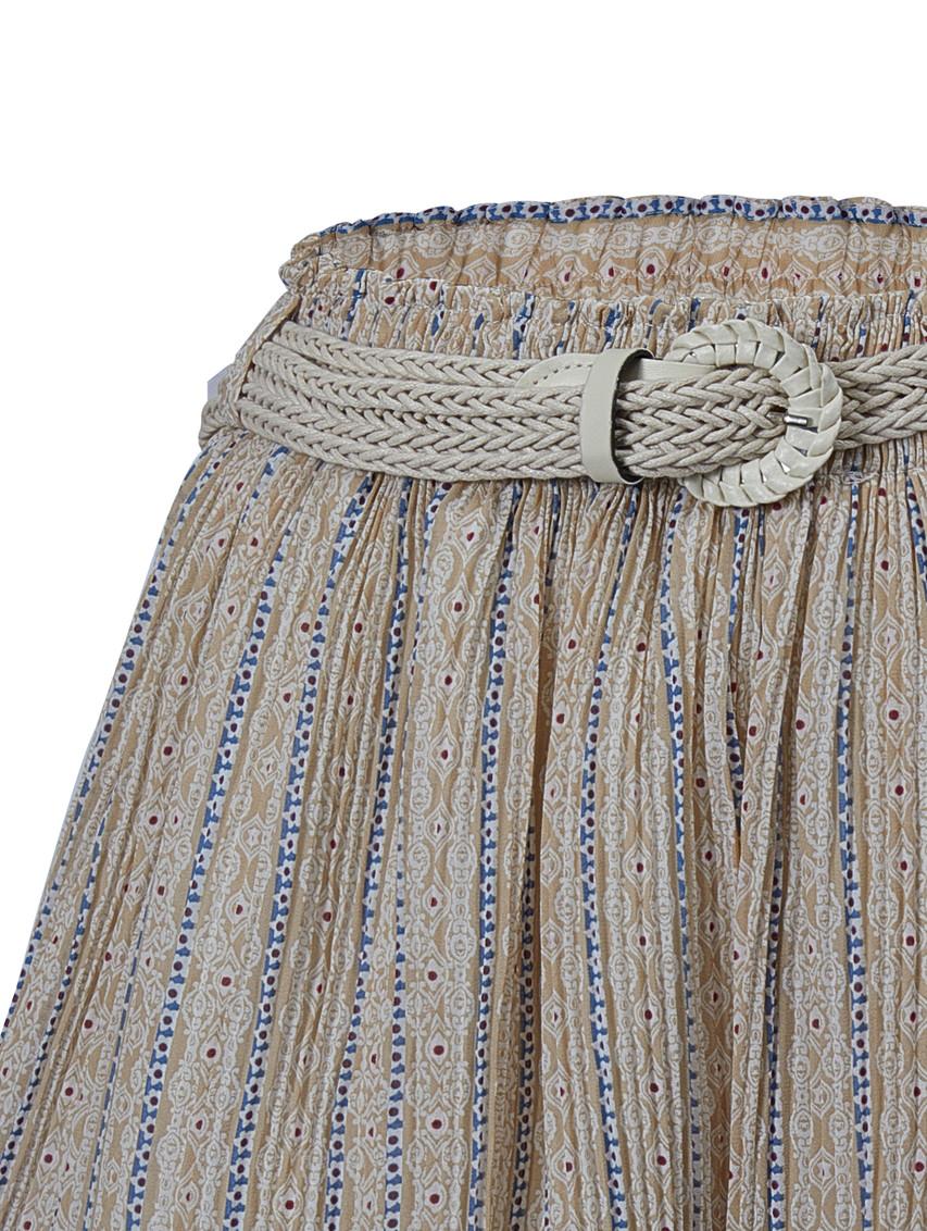 Print Flare Shorts