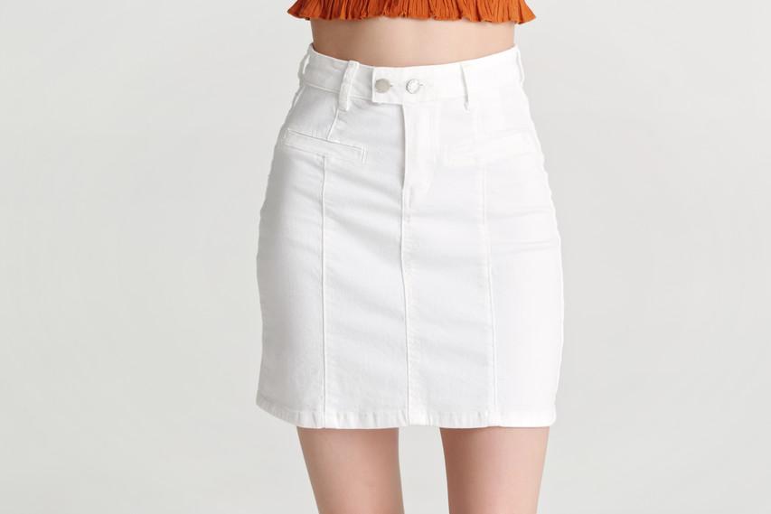 Cotton Mini Skirt