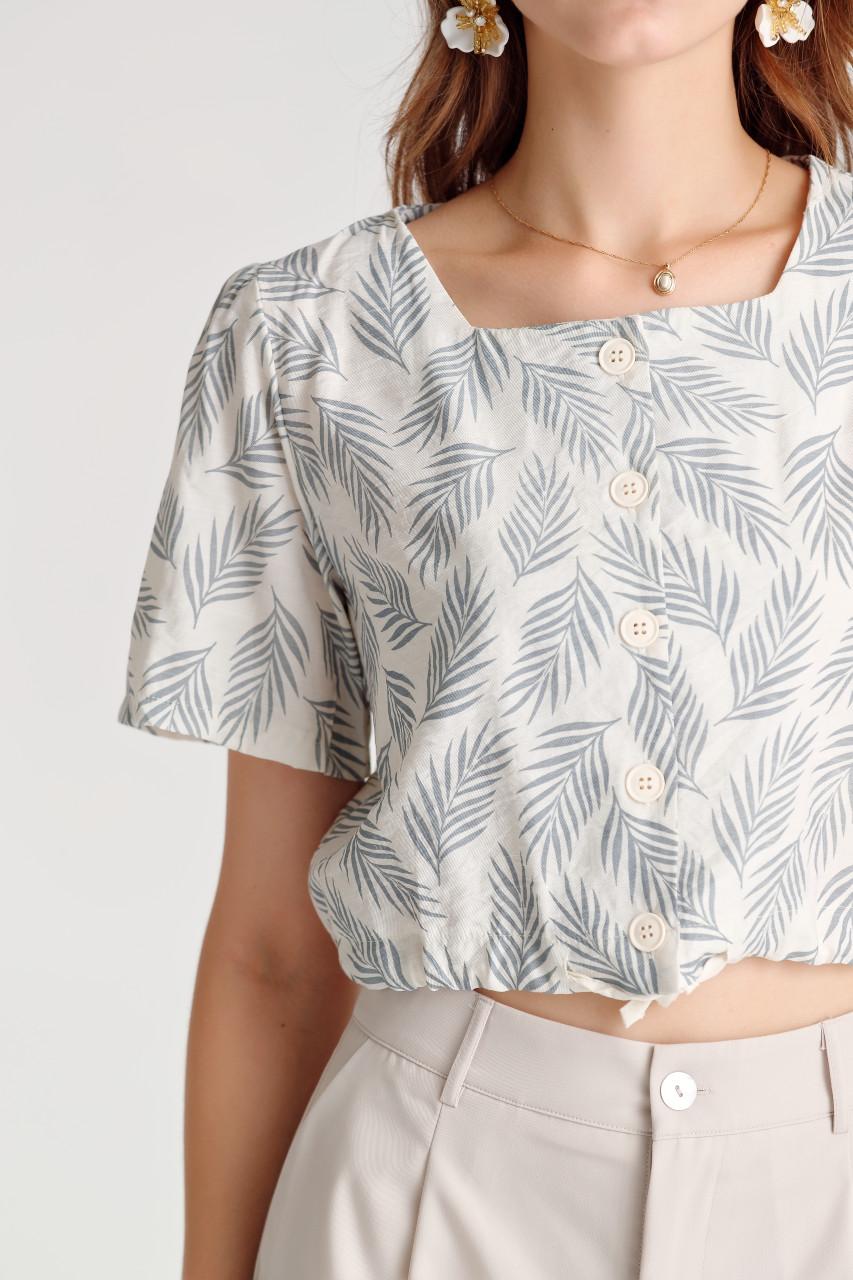Leaf Crop Shirt