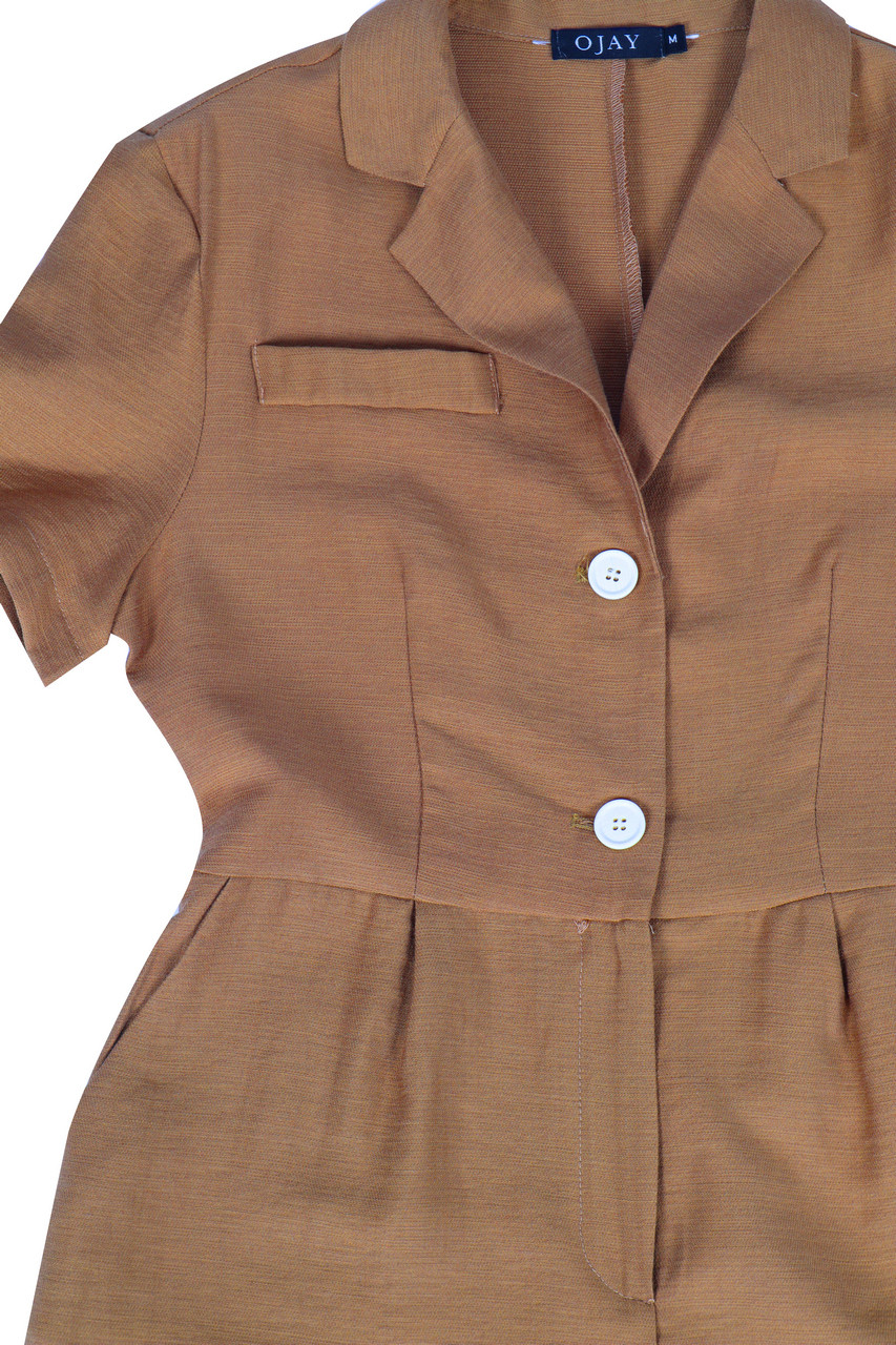 Rustic Belted Playsuit