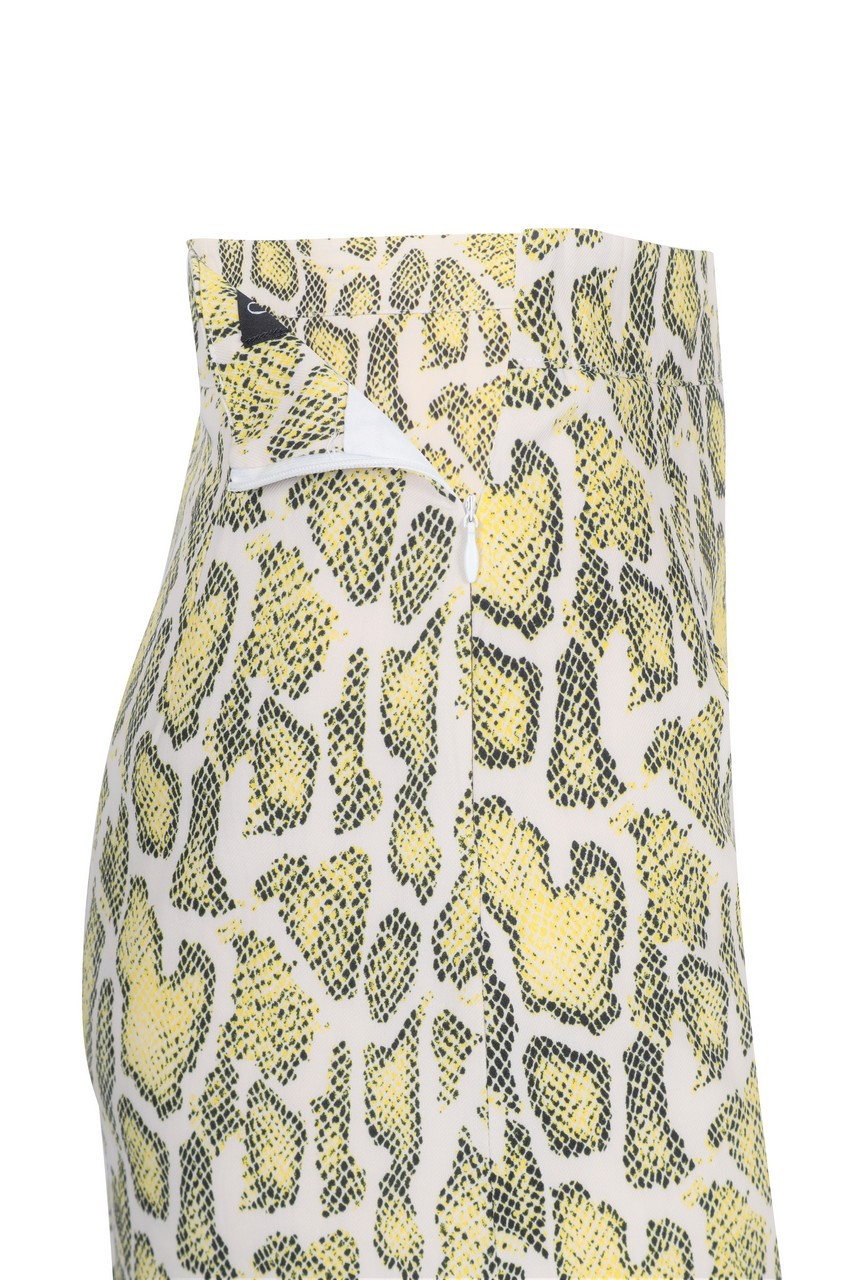 Animal mini Skirt