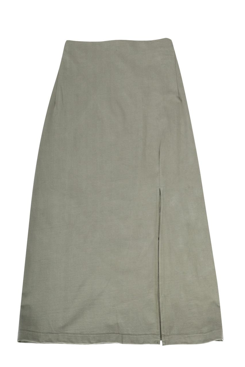 Jersey Slim Skirt