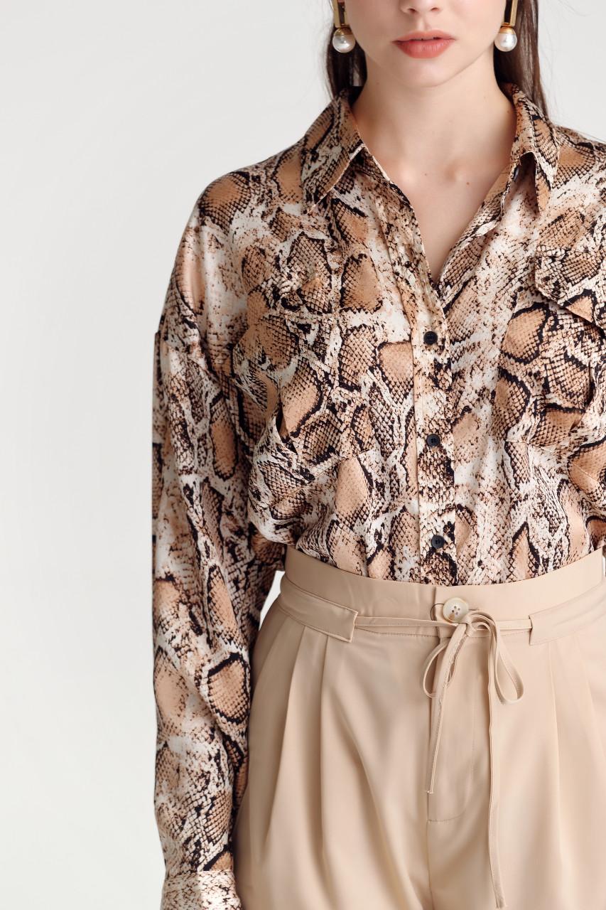 Animal Loose-Fit Shirt