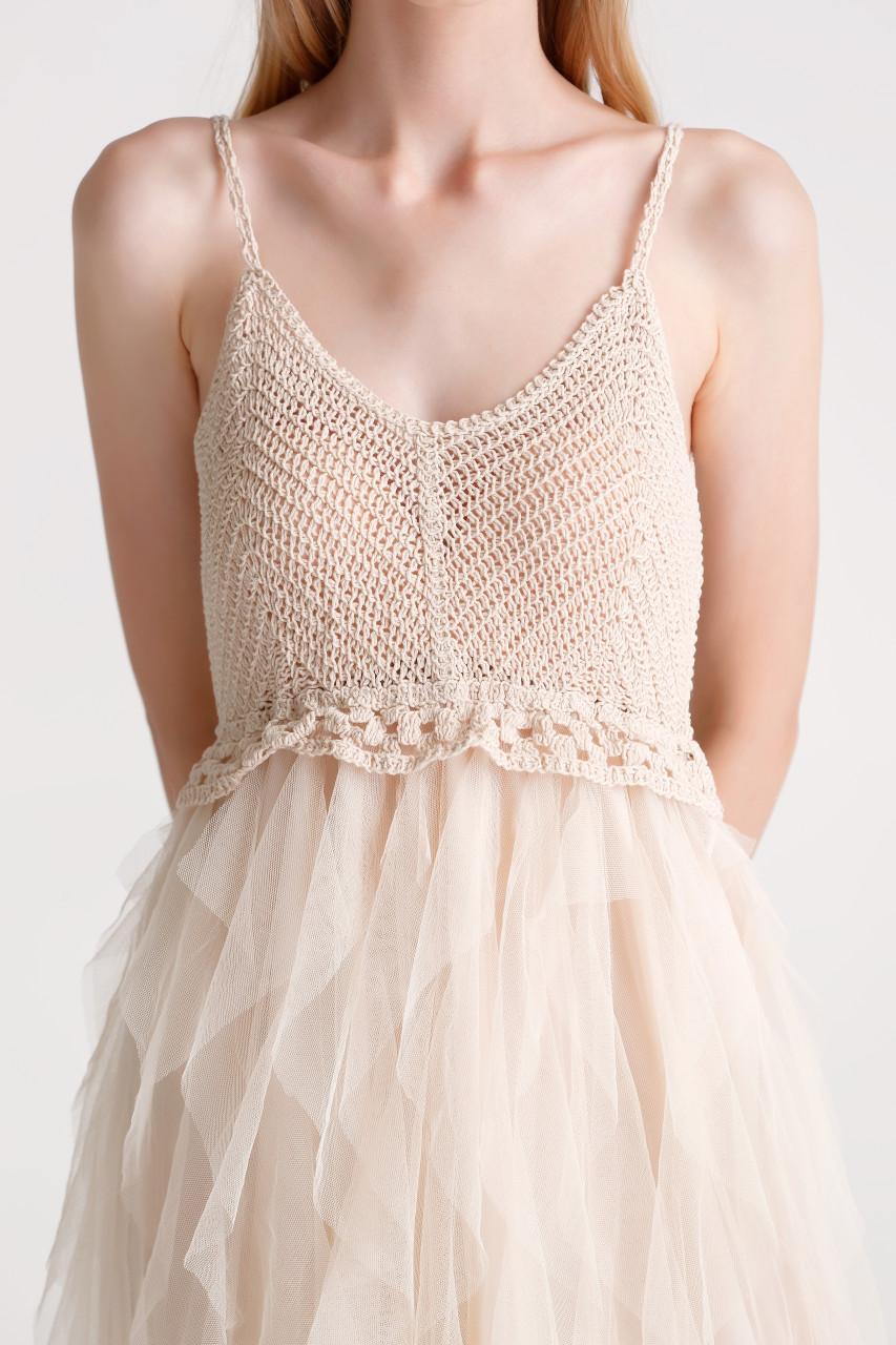 Mesh Layered Dress