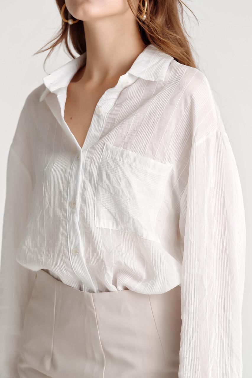 Sheer Stripe Shirt