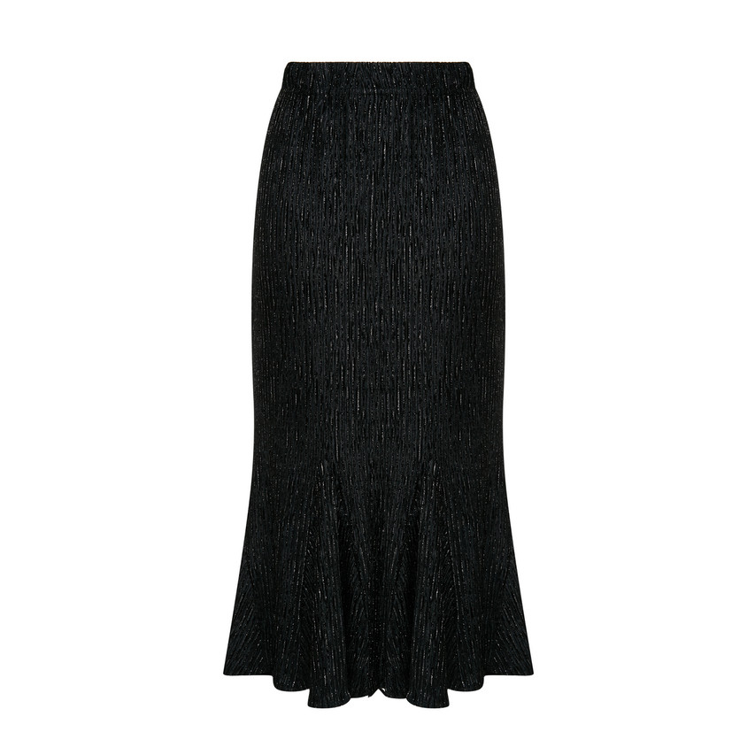 A-line Flared-Hem Skirt