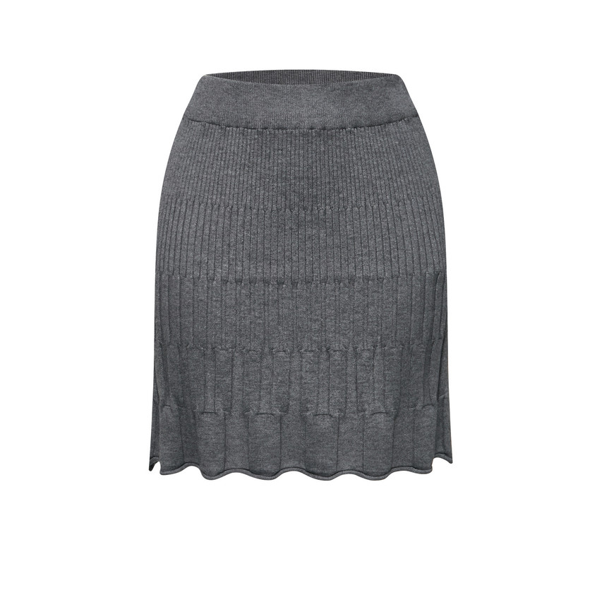 Knit Fitted Skirt