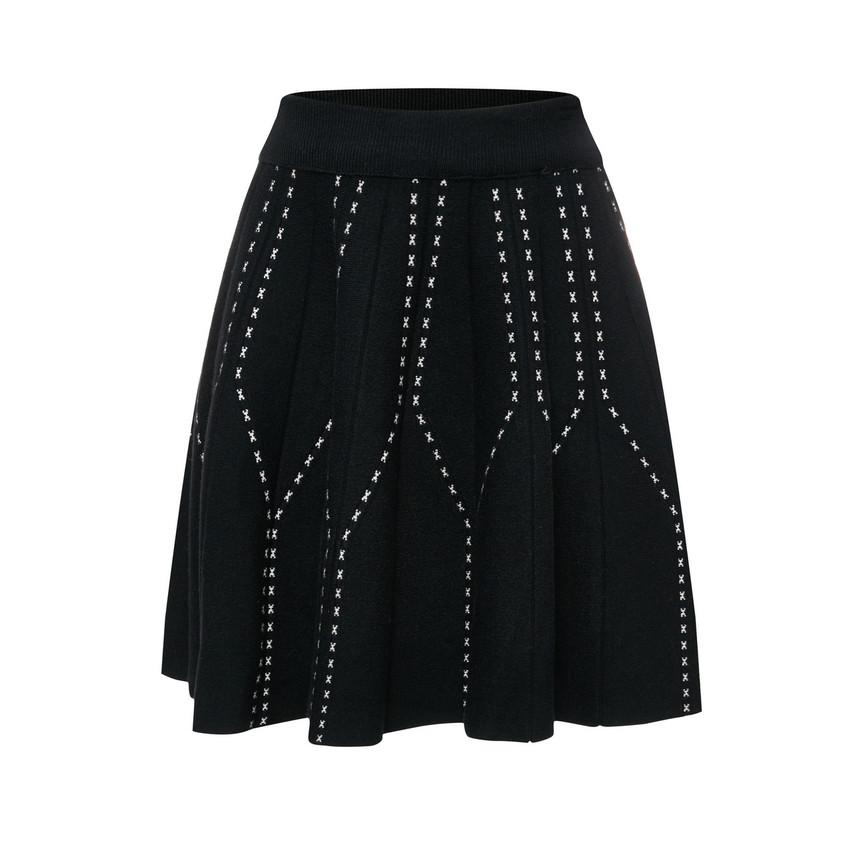 Knit Skater Skirt