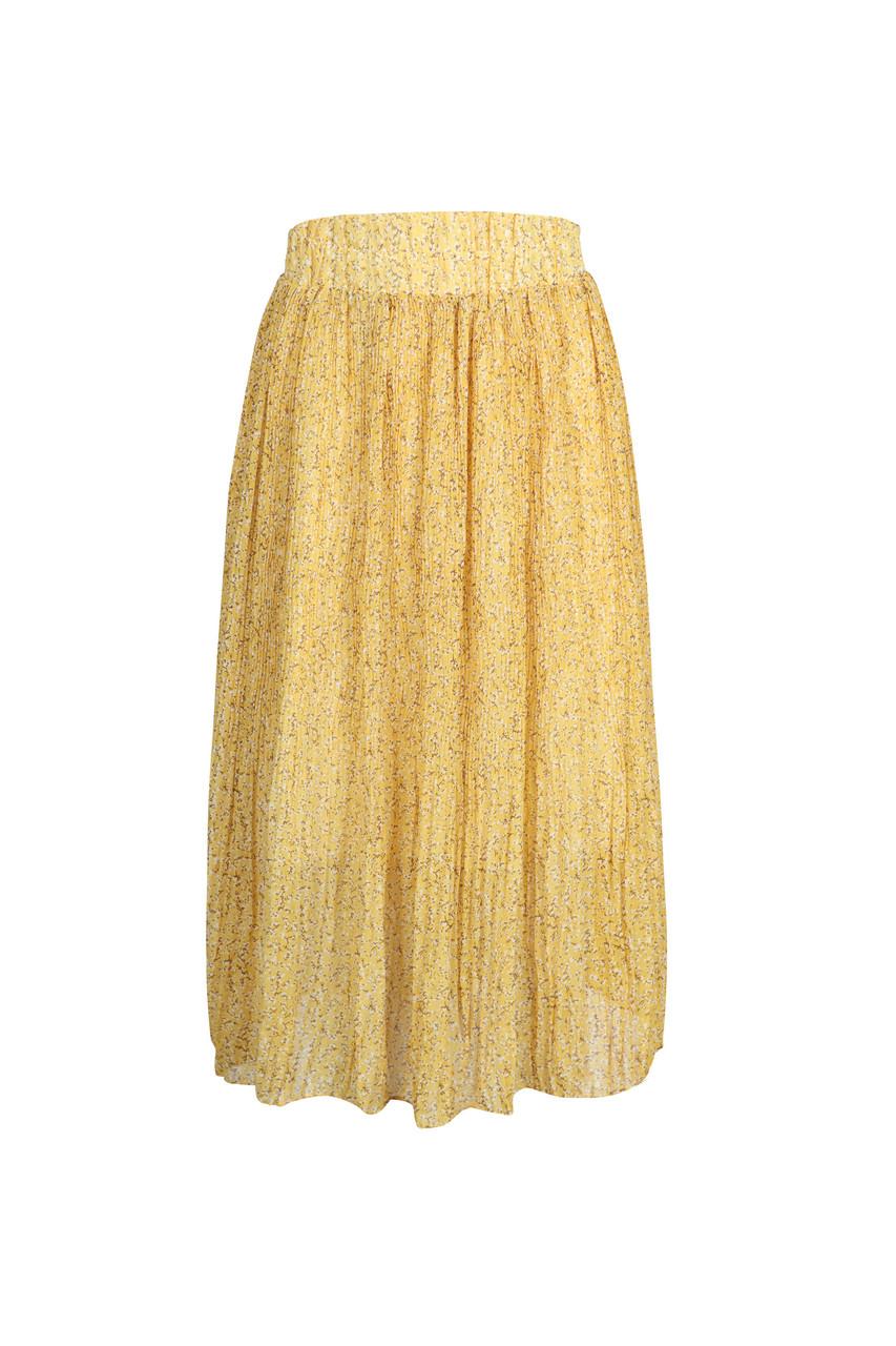 Chiffon Pleats Skirt_10074