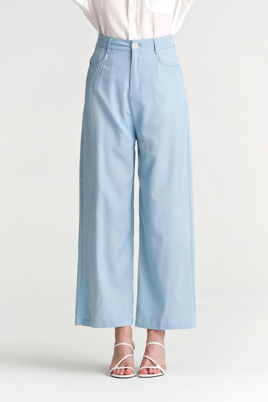 Denim like Wide Leg Pants_10081