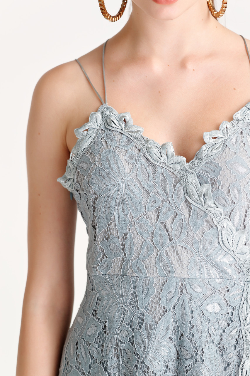 Lace Cami Dress(10236)