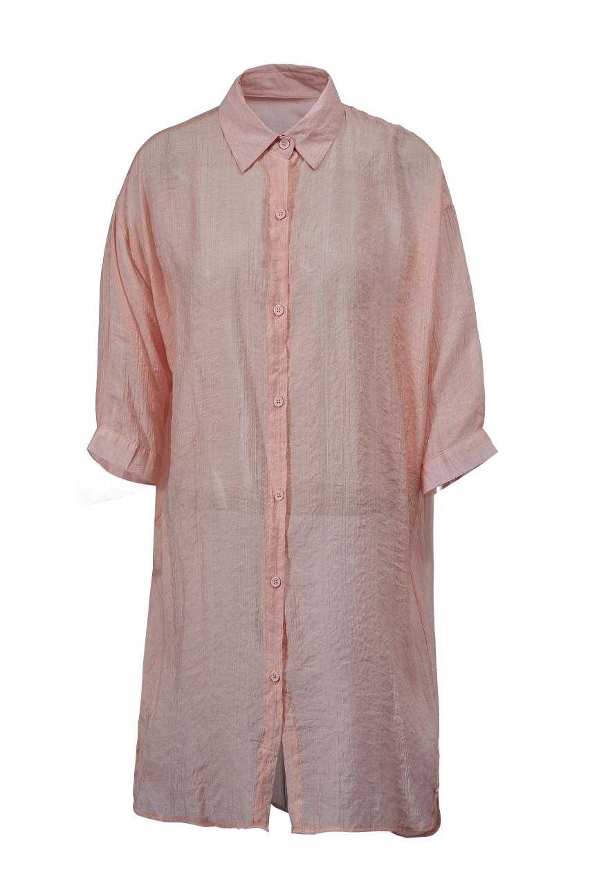 Sheer Long Shirt(10258)