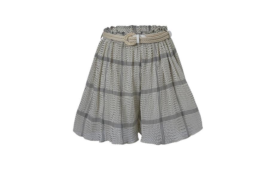 Print Flare Shorts(10281)
