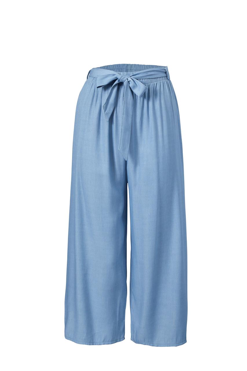 Denim like Wide Leg Pants(10336)