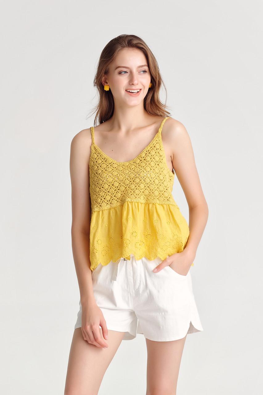Crochet Crop Top(10437)