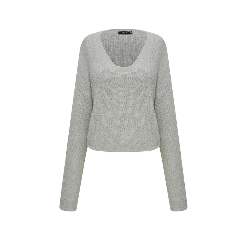 Fluffy Knit Top (10538)