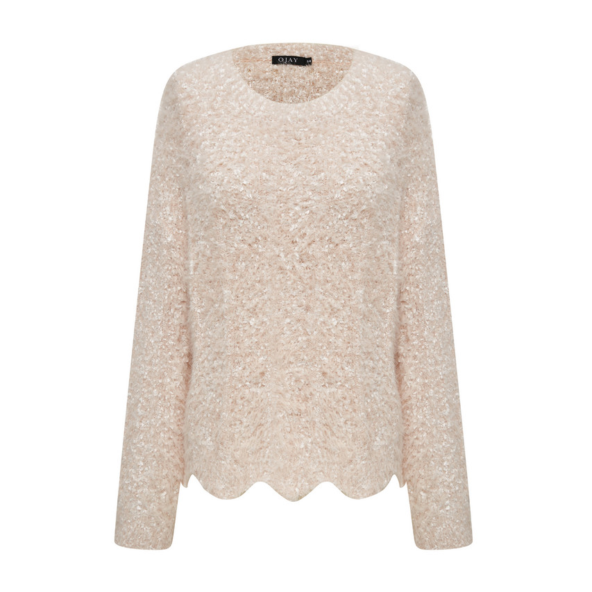 Fluffy Knit Top (10598)