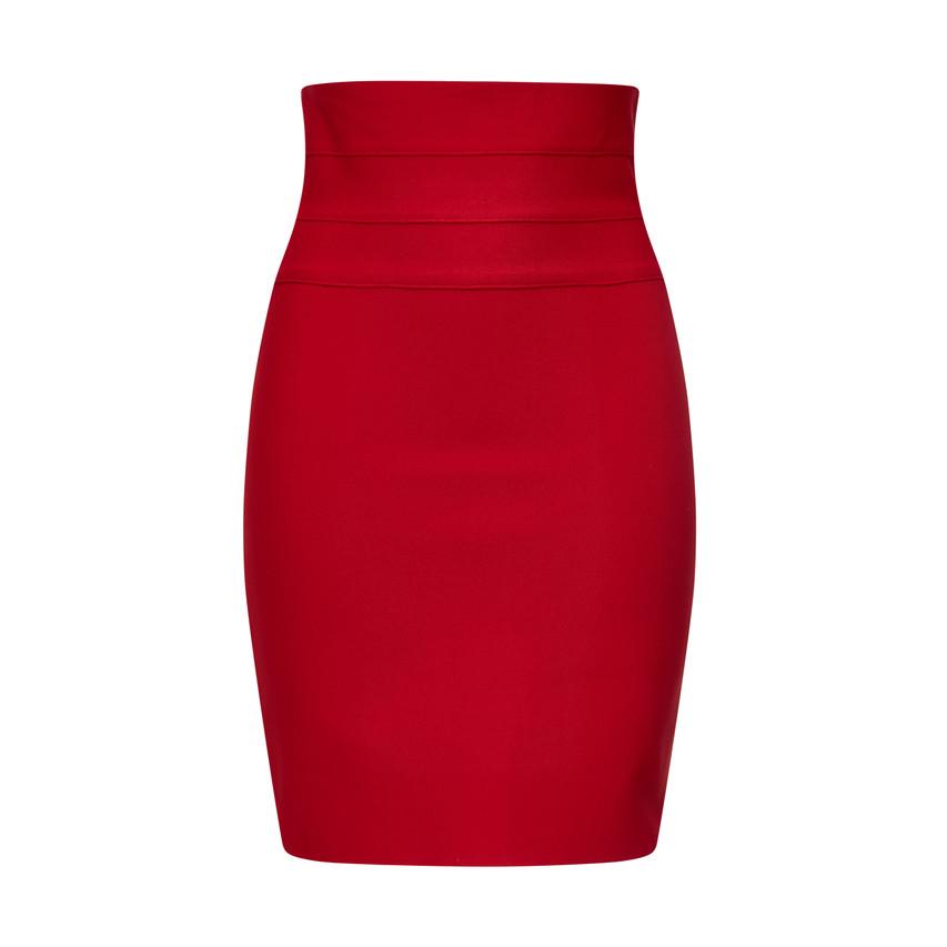 Tulip elastic banded waist skirt
