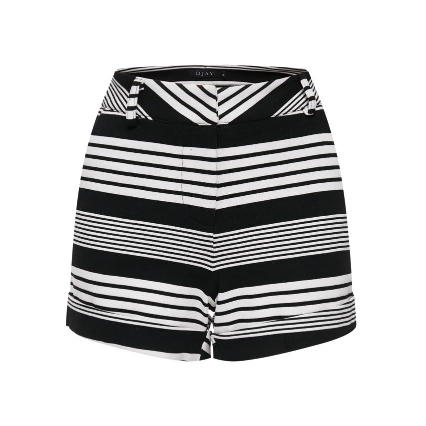 Striped Short Pants