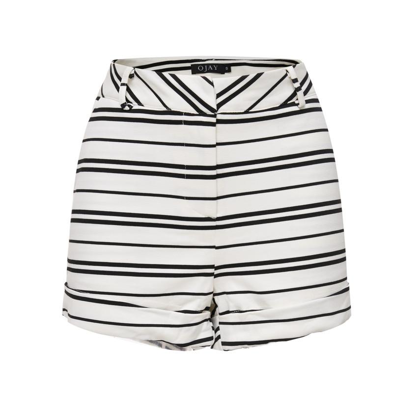 Striped Short Pants (10609)