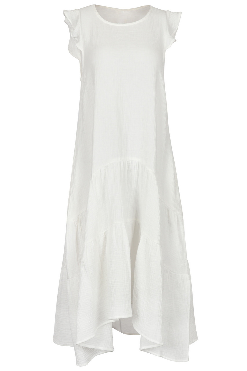 Casual Boho tiered sleeveless Maxi dress