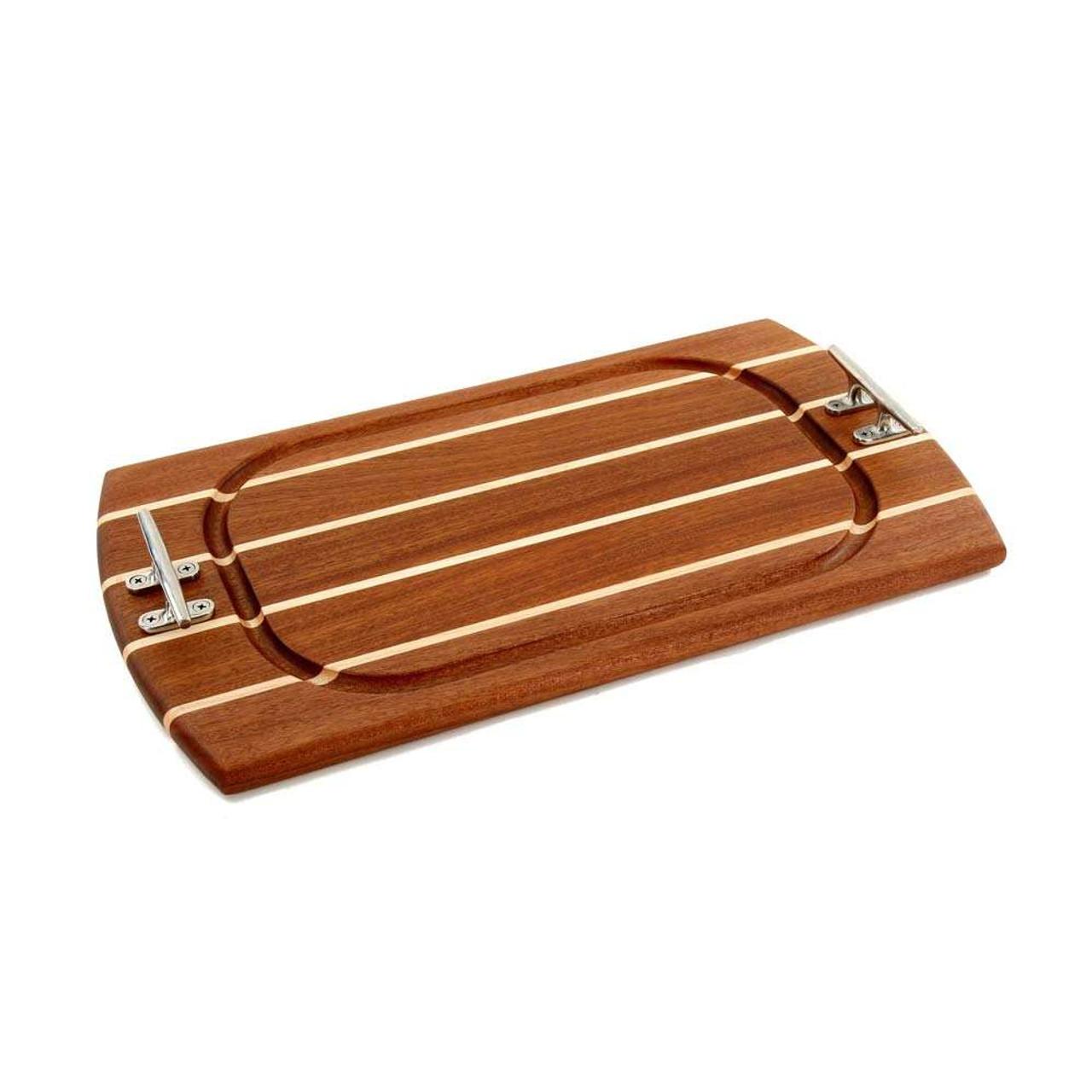 Rectangle Sapele Carving Board Nautical Boards