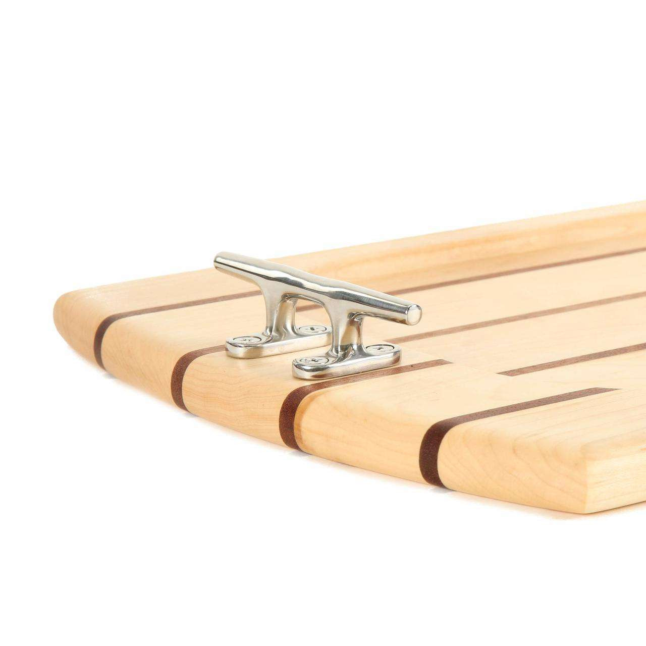 Rectangle Maple Serving Tray Nautical Boards
