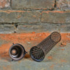 """SteamVent Perforated Cage Shade - 9-3/4"""" - Antique Copper"""