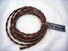Brown Cloth-covered Cord