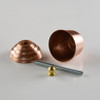 Copper Acorn Metal Ball