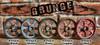 """Pulley Wheel - 3"""" - Antique Brass Grunge Finish"""