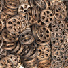 Copper finish pulley Wheels