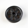"Pulley Wheel - 3"" - Antique Black Grunge Finish"