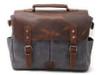 Charcoal Messenger Bag