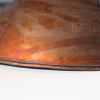 Hand-Formed Hexagon Shade -  Antique Copper Finish