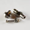 3-Way Swivel Clutch Elbow - Antique Nickel Finish - Cast Brass