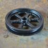 Black Cast Wheel