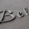 Plaque Raised lettering