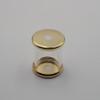 Brass plated flat cap
