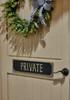 Private Plaque