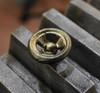 Steam Knob Brass
