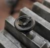 Black Round Knob