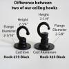 Ceiling Hook Flange