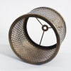 Perforated Shade Brass